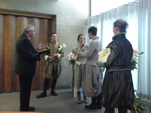 Vows in the City Hall