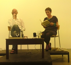 catherine reads an extract at IKON 2 july 2010